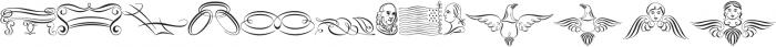ScrollsA otf (400) Font LOWERCASE