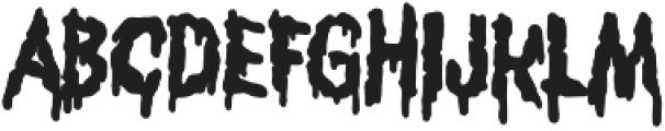Scrungy otf (400) Font UPPERCASE