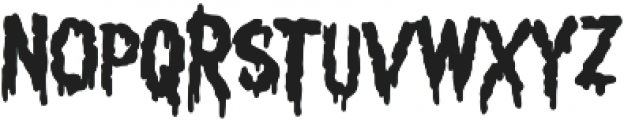 Scrungy otf (400) Font LOWERCASE
