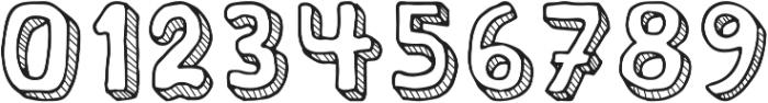 school otf (400) Font OTHER CHARS