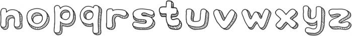 school otf (400) Font LOWERCASE