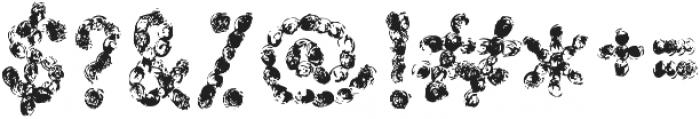 scribble regular otf (400) Font OTHER CHARS