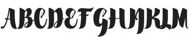 scylla otf (400) Font UPPERCASE