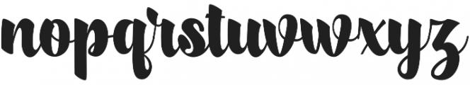 scylla otf (400) Font LOWERCASE