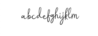 Scarlet Whaleys.ttf Font LOWERCASE