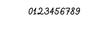 Script Elegant Regular.otf Font OTHER CHARS