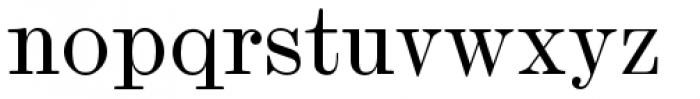 Scotch Micro Regular Font LOWERCASE