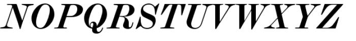 Scotch Modern Bold Italic Font UPPERCASE