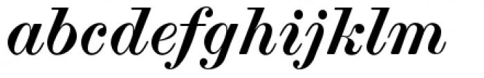 Scotch Modern Bold Italic Font LOWERCASE