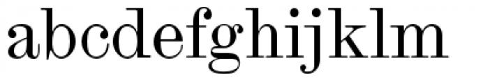 Scotch Modern Regular Font LOWERCASE