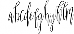 Scatter Sunshine Typeface 1 Font LOWERCASE