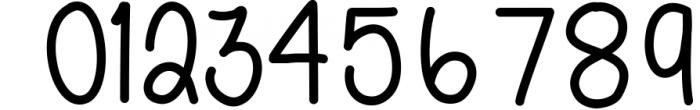 Scout & Rose Handwritten Font Bundle - 6 fonts! 3 Font OTHER CHARS