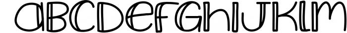 Scout & Rose Handwritten Font Bundle - 6 fonts! 4 Font UPPERCASE
