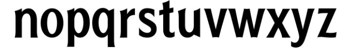 Scouthels Typeface - Clean Sans Font Font LOWERCASE