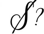 Scriptic Font OTHER CHARS
