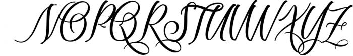 Scriptic Font UPPERCASE