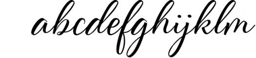 Scriptic Font LOWERCASE