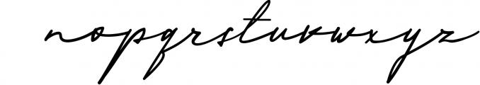 Scripture Font LOWERCASE