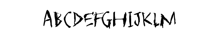 SCARFACE Font LOWERCASE
