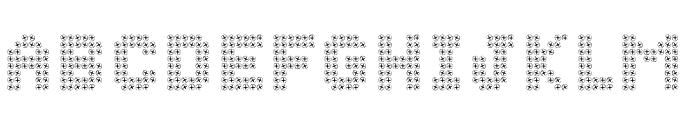 SCHROEF Font UPPERCASE