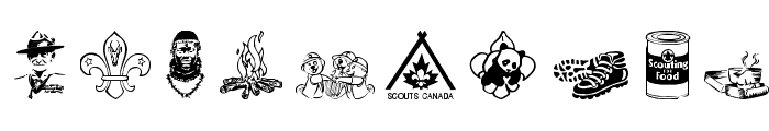 SCOUT015 Font OTHER CHARS