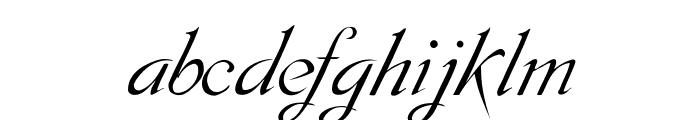SCRIPT 9 Font LOWERCASE