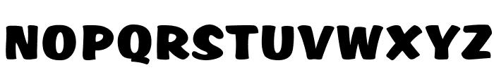 SCRIPT1 Rager Hevvy Normal Font UPPERCASE