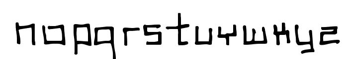 SCSI Port Font LOWERCASE