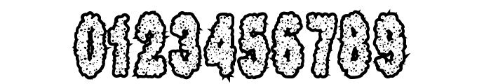 Scab Font OTHER CHARS