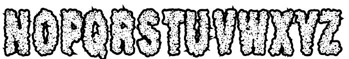 Scab Font UPPERCASE