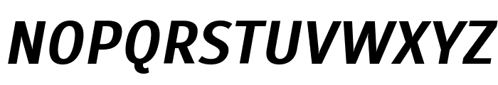 Scada Bold Italic Font UPPERCASE