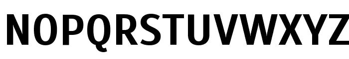 Scada Bold Font UPPERCASE