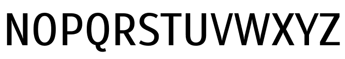Scada Regular Font UPPERCASE