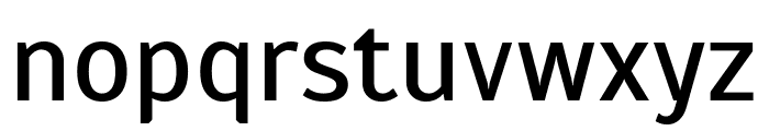 Scada Regular Font LOWERCASE