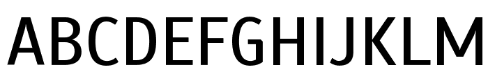 Scada Font UPPERCASE