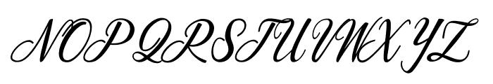 Scallion Font UPPERCASE