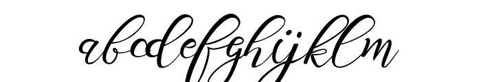 Scallion Font LOWERCASE