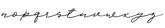 ScandiloverScript Font LOWERCASE