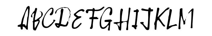 Scapegoat DEMO Regular Font UPPERCASE