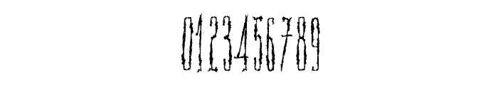 Scar Bleed Font OTHER CHARS