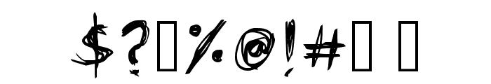 Scar-Regular Font OTHER CHARS
