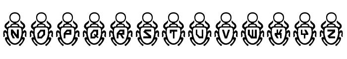Scarab Font UPPERCASE
