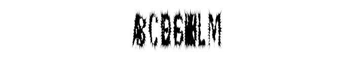 ScaredyCat Font UPPERCASE