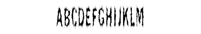 ScaredyCat Font LOWERCASE