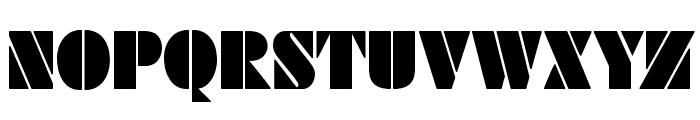 SchabLonski Font UPPERCASE