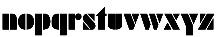 SchabLonski Font LOWERCASE