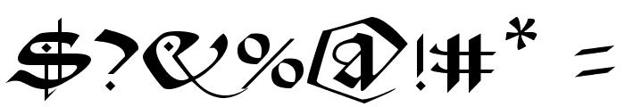 Schampel Black Font OTHER CHARS