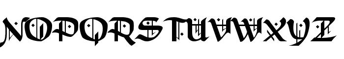 Schampel Black Font UPPERCASE