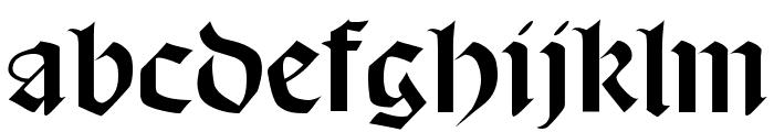 Schampel Black Font LOWERCASE