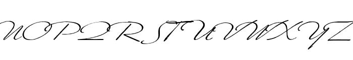 Scharnhorst Font UPPERCASE
